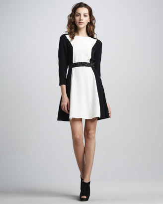 Marc by Marc Jacobs Avery Two-Tone Dress