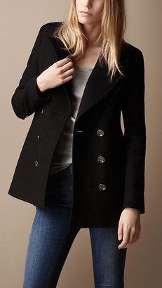 Burberry Classic Wool Pea Coat
