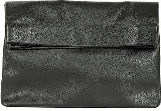 Marie Turnor Pebbled Lunch Bag Clutch