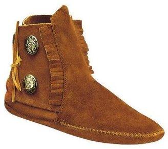 Minnetonka Women's Two-Button Softsole Boots