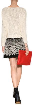 Anna Sui Optical Print Skirt