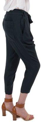 Helmut Lang Flash Drape Crop Pant