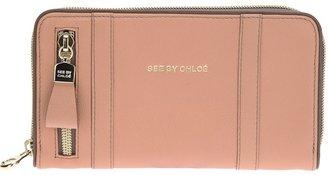 See by Chloe zip fastening wallet