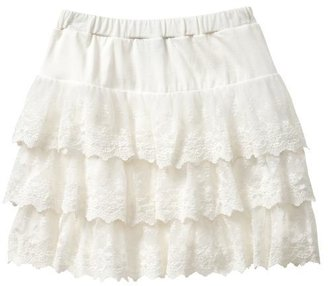 Gap Tiered lace skirt