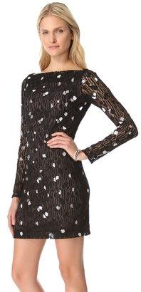 Diane von Furstenberg New Zarita Silver Bubbles Dress