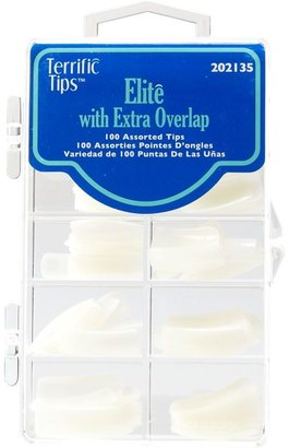 Terrific Tips Elite Extra Overlap Natural Nail Tips