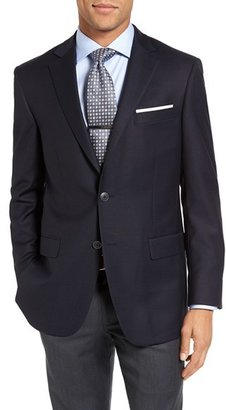 Men's Hart Schaffner Marx New York Classic Fit Wool Blend Blazer $495 thestylecure.com