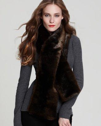 Rachel Zoe Mink Faux Fur Scarf