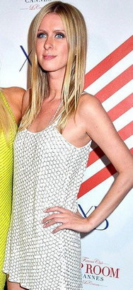 Parker Leather Sequin Tank Dress - as seen on Nicky Hilton -