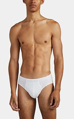 Hanro Men's Superior Cotton Briefs - White
