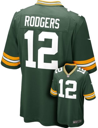 Nike Men's Green Bay Packers Aaron Rodgers Game NFL Replica Jersey