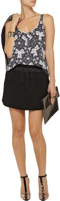 A.L.C. Robey woven drawstring skirt