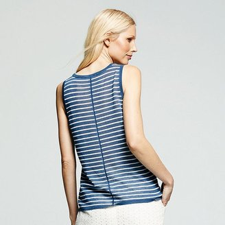 Peter Som for designation striped sweater tank - women's