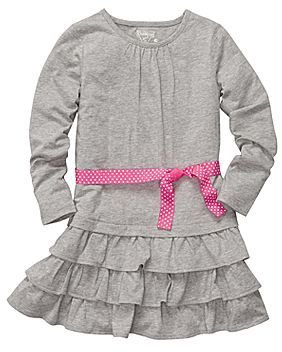 Osh Kosh Ruffled Dress - Girls 4-6x