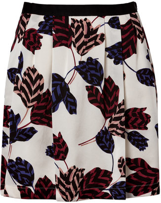 Marc by Marc Jacobs Marie Tulip Skirt in Antique White Multi