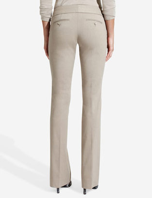 The Limited Exact Stretch Tab-Waist Bootcut Pants