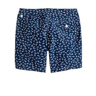"""J.Crew 7"""" Board Shorts In Anchor Print"""