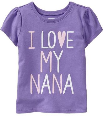 """Nana """"I ♥ My Tees for Baby"""
