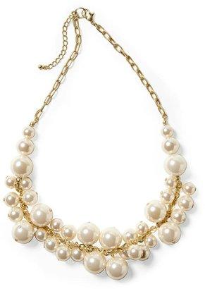 Pim + Larkin Faux Pearl Lady Necklace