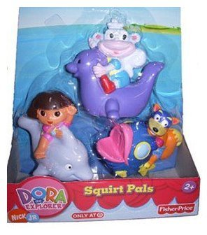 Fisher-Price Dora the Explorer Squirt Pals