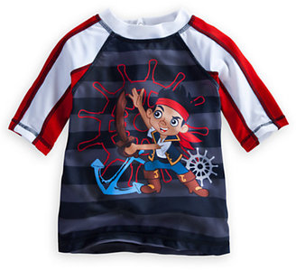 Disney Jake and the Never Land Pirates Rash Guard for Boys