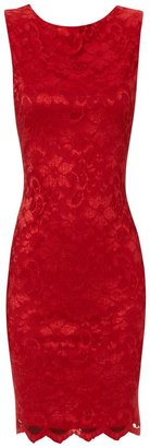 Jane Norman Scoop back lace dress