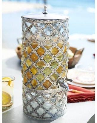 Pottery Barn Marrakech Drink Dispenser & Stand