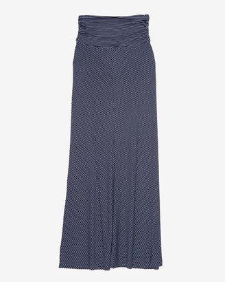 Bella Luxx Exclusive Striped Maxi Skirt