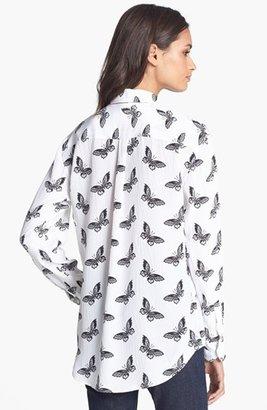 Equipment 'Slim Signature' Print Silk Shirt
