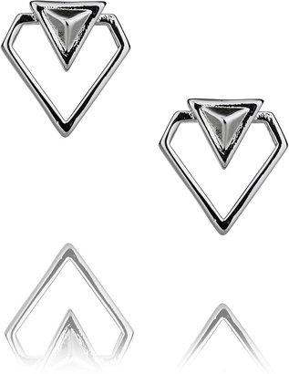 Rebecca Minkoff Blades Cutout Stud