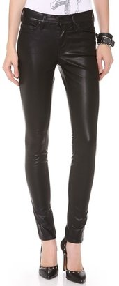Mother Freja + The Muse Vegan Leather Pants