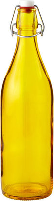 Container Store 34 oz. Giara Water Bottle Golden Yellow