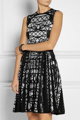 Mary Katrantzou Patterned wool-blend dress