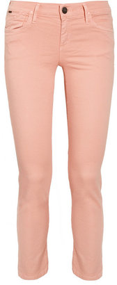Gold Sign Frontier cropped mid-rise skinny jeans