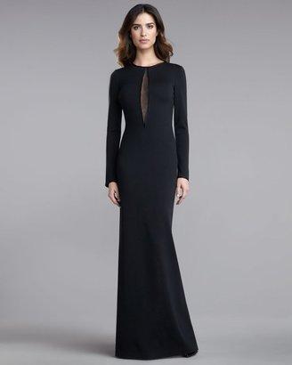 St. John Beaded Milano Knit Gown