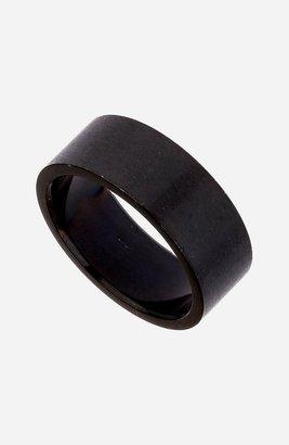 Topman Band Ring Black Large