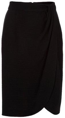 Valentino draped skirt