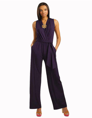 Trina Turk Sleeveless Silk Jumpsuit