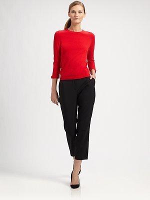 Kate Spade Merino Wool-Cashmere Arianna Sweater