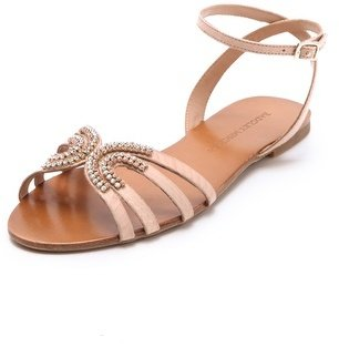 Badgley Mischka Courtney Jeweled Sandals