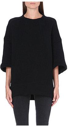 Helmut Lang Dropped shoulder sweatshirt