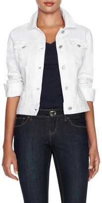 The Limited The Essential White Denim Jacket