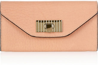 Chloé Sally textured-leather wallet