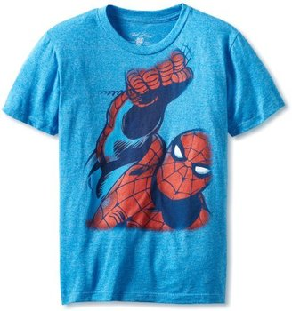 Spiderman Boys 8-20 Up And Away Youth Tee