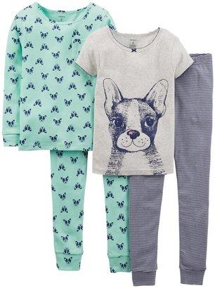Carter's 4 Piece Pant PJ Set (Kid) - Doggy-4