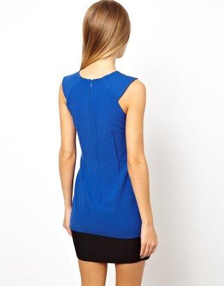 Asos Exclusive Jewel Neck Dress