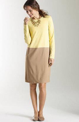 J. Jill Wearever color block shift dress