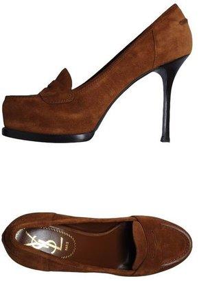 Yves Saint Laurent RIVE GAUCHE Moccasins with heel