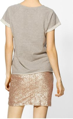 Rachel Zoe Hive & Honey Short Sleeve Sweatshirt