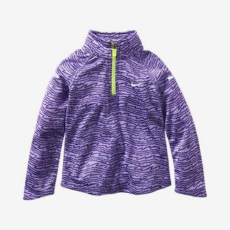 Nike Element Jacquard Half-Zip Toddler Girls' Running Top